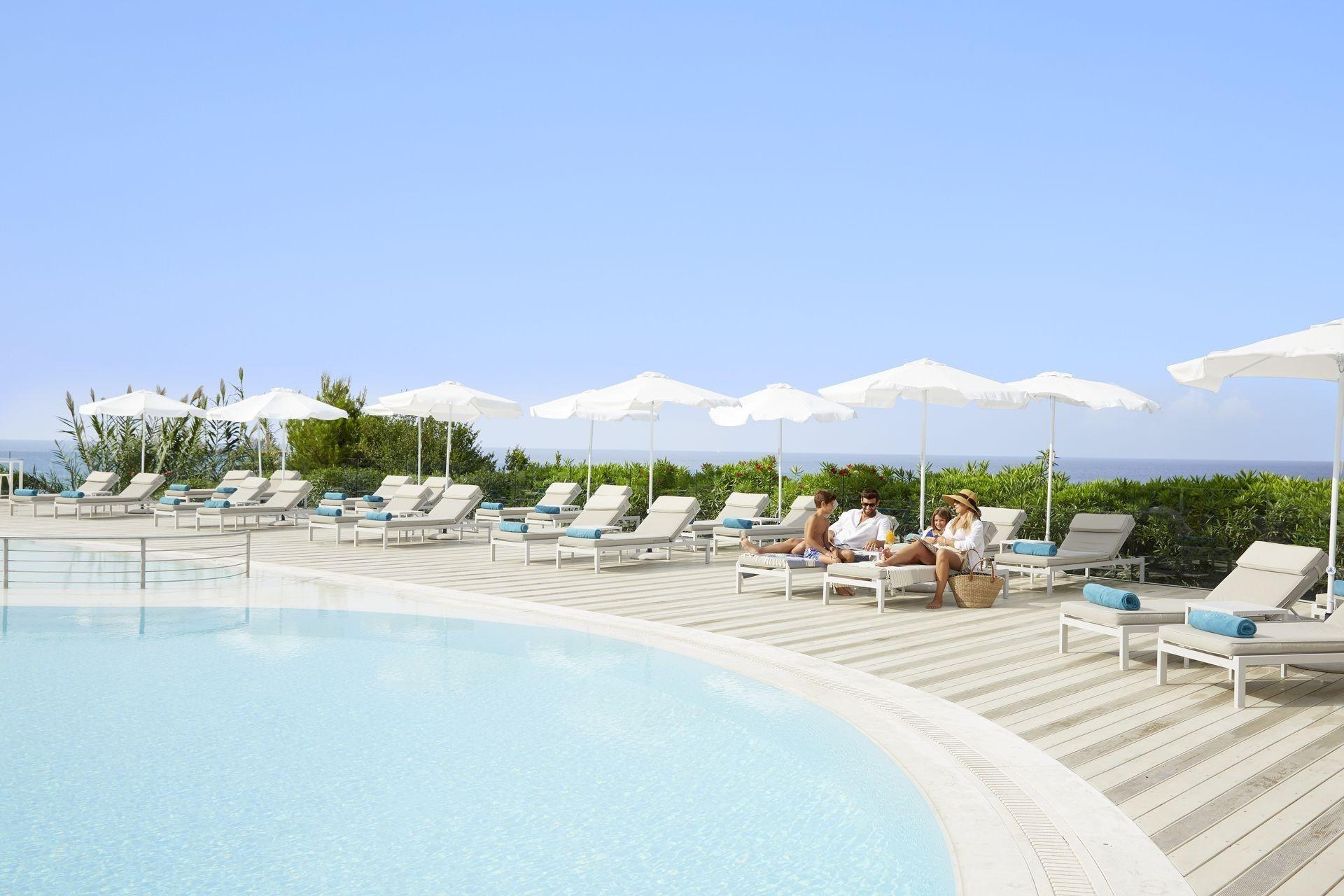Mayor Pelekas Monastery Beach Resort In Corfu Island